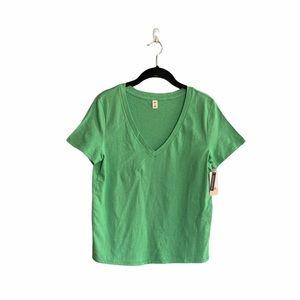 BP Set of 2 Basic V-Neck Short Sleeve Tee Shirts